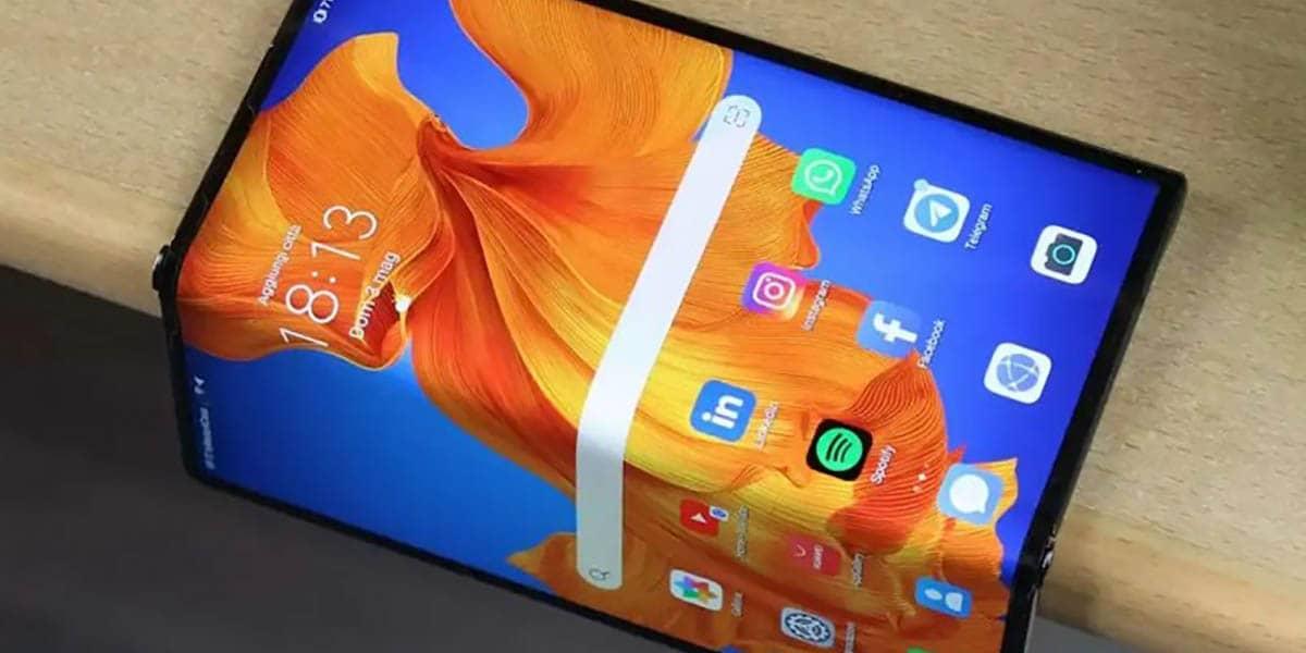 Se filtra el diseño del Huawei Mate X2