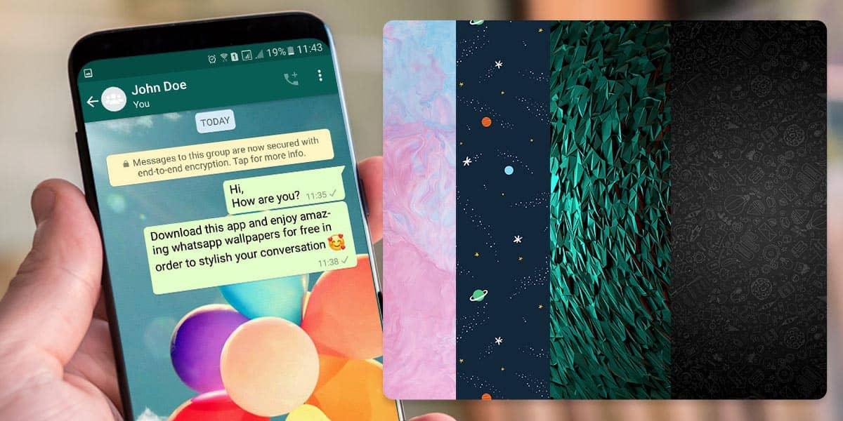 Cómo cambiar el fondo de pantalla en WhatsApp