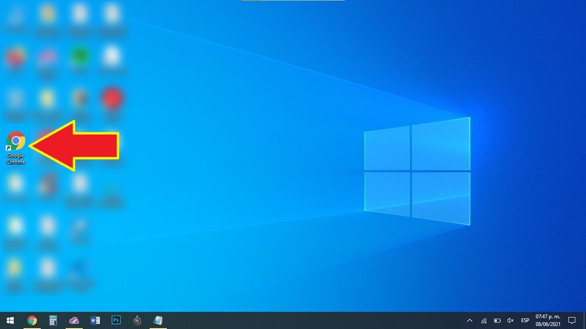 Abrir navegador Chrome en PC